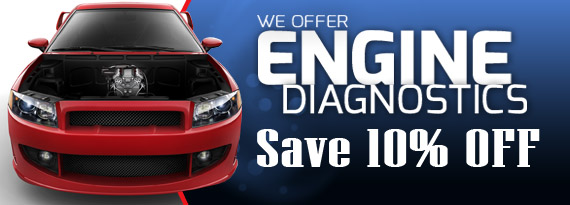 10% Off All Engine Diagnostic Services